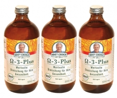 3 x Omega-3-Öl Plus BIO 500ml