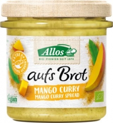 Allos Aufs Brot Mango Curry BIO vegan