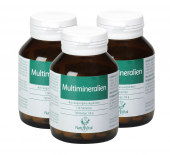 3 x Natur Vital Multimineralien 120 Tabletten 180g