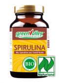greenValley Spirulina Algen BIO 2500 Tabletten à 400mg Nachfüllpack